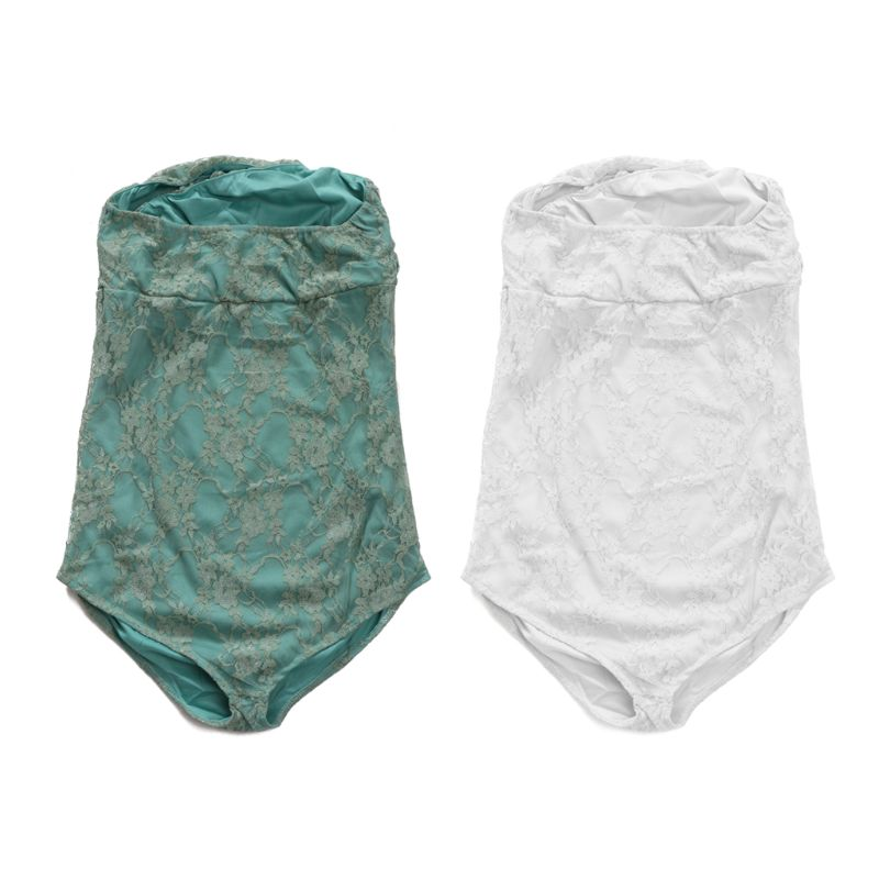Maternity Lace Rompers For Pregnancy Photography Props Pregnant Women Photo Shoot  Lace Jumpsuit Dress Clothes Fotografia MAR-20