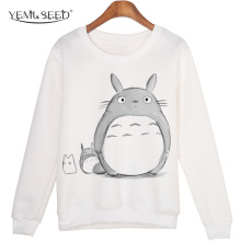 Totoro Winter O-neck Pullover