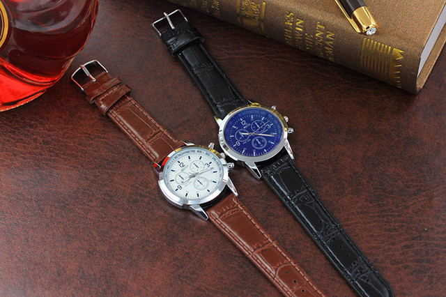 GEMIXI Fashion Men Belt Sport Quartz Hour Wrist Analog Watch Sep.27