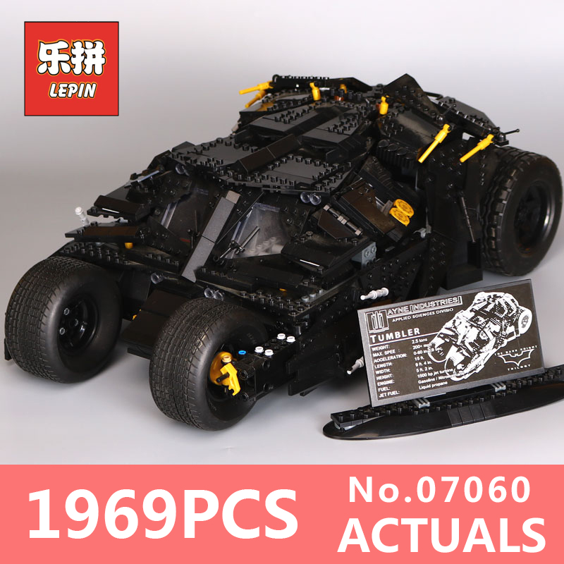lepin 07060 classic movie series super herose batman armored model building kits blocks bricks toys for boys LegoINGlys 76023 lepin 07060 super series heroes movie the batman armored chariot set diy model batmobile building blocks bricks children toys