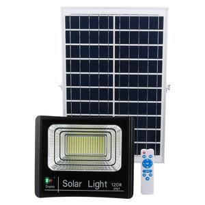 Светильник на солнечной батарее IP67, супер яркий, 200 мА, 120 Вт, водонепроницаемый, уличный, садовый, с питанием от солнечной батареи и пультом д...
