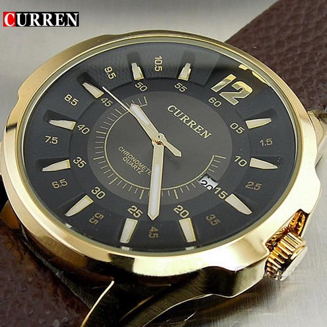 Men Business Waterproof Casual Wrist Watch