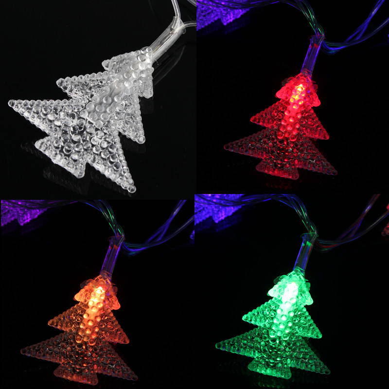 5M 20LED Christmas Light for Christmas tree bedroom Wedding Garden Party Decoration Fairy light Colorfully Party Decor 220V