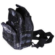 Outdoor Sport Bag Military Tactical Backpack Tactical Messenger Shoulder Bag Oxford Camping Travel Hiking Trekking Runsacks Bag