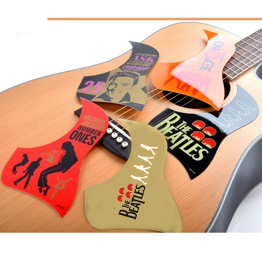 Homeland China Style letter character Pattern Acoustic Guitar Pickguard Pick Guard