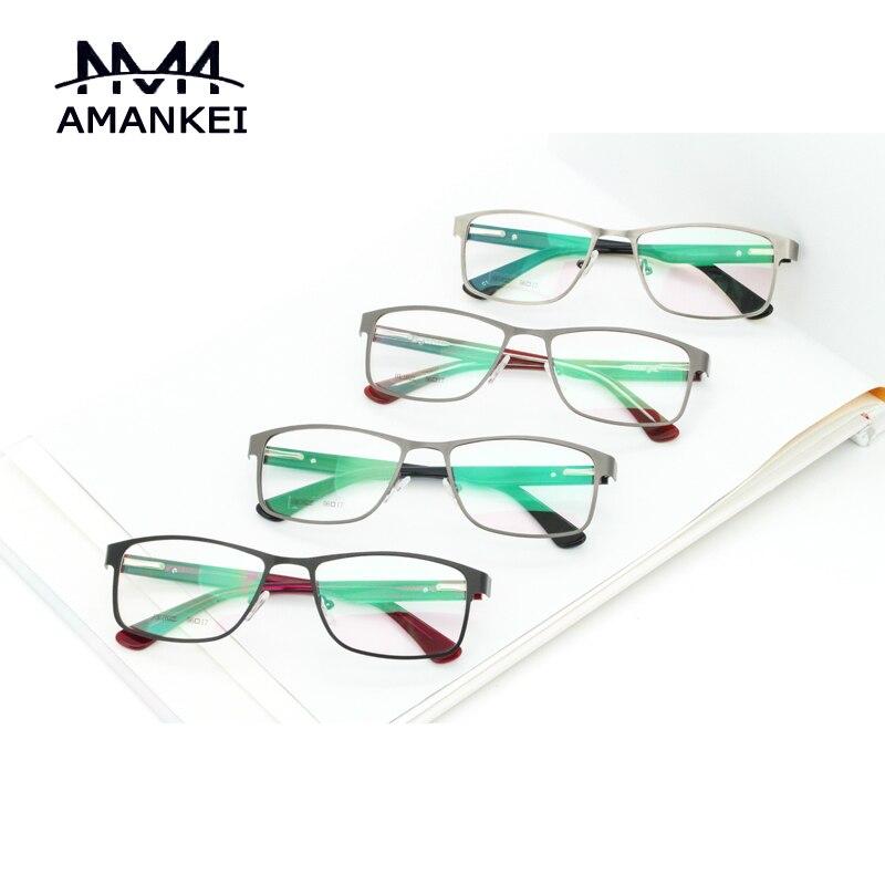 retro unisex eyeglasses frames buy custom logo best designer online square optical glasses frame metal frame