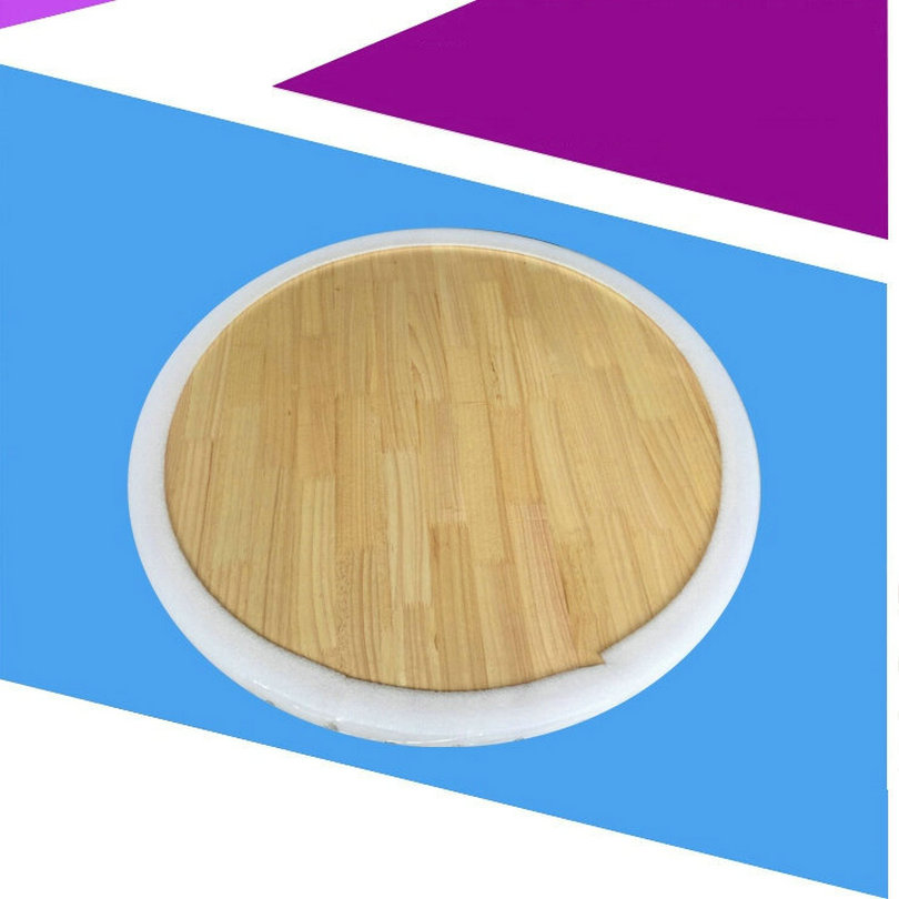 wood lazy susan dining table turntable lazy susan solid_0011