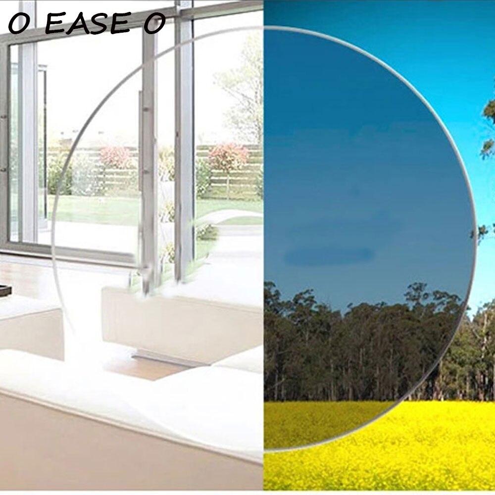 Popular E Confortável 1.61 Photogray Multi Focal Lente Fotossensível Progressiva Com Corte Da Lente E Serviço de Montagem Quadro