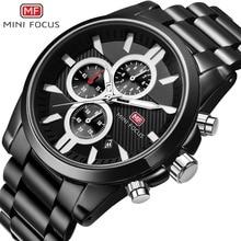 2019 Mens Watches Top Brand Luxury Waterproof 24 hour Date Quartz Watch Man Full Steel Sport Wrist Watch Men Waterproof Clock цена и фото