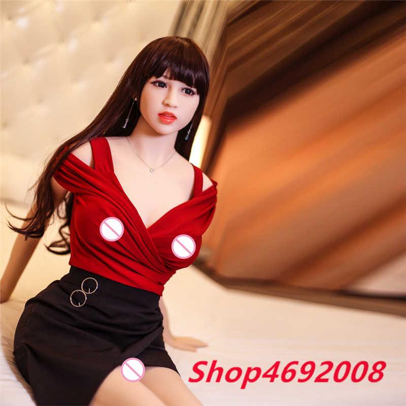 Азиатская красавица настоящий силикон 165 см блонд любовь кукла большая грудь 100% настоящий силикон полное тело взрослые кукла для орального секса для мужчин