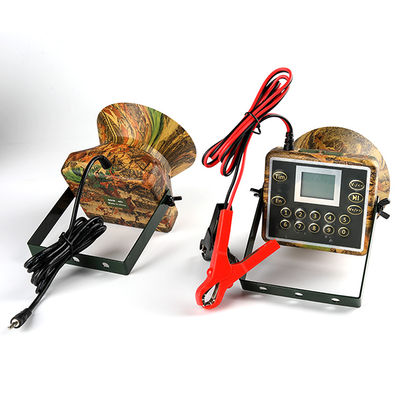 Image 4 - 2pcs 60W Speakers Hunting Decoy For Duck Bird Caller Sounds Trap Hunting Bird Device Electronics mp3 birds Player Waterproof-in Hunting Decoy from Sports & Entertainment