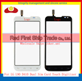 """Alta Qualidade 4.7 """"para lg l90 d410 dual sim card tela de toque digitador sensor de vidro da lente painel black white frete grátis"""
