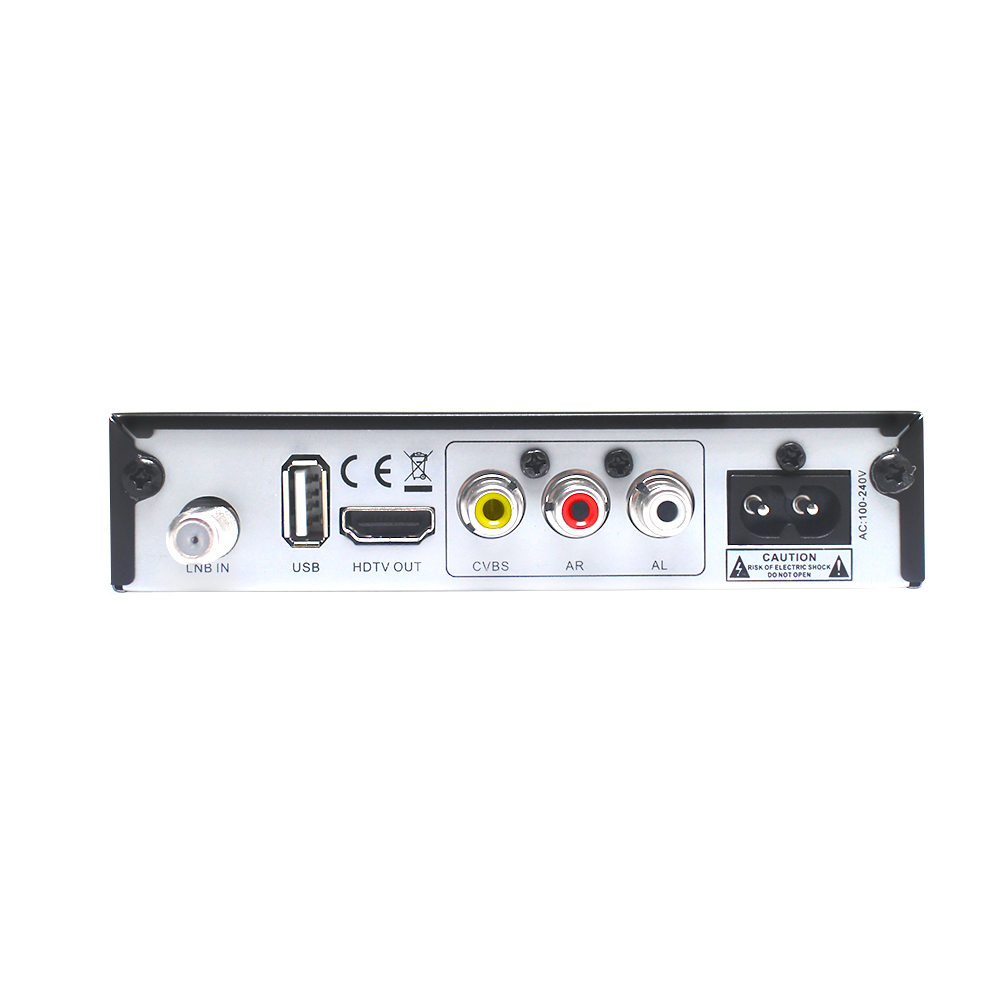 Image 5 - Vmade DVB S2 V5 HD Digital Satellite Set Top Box 1080p H.265/HEVC Support CCCAM Dolby AC3 YouTube DVB S2 V5 TV Receiver+USB WIFI-in Satellite TV Receiver from Consumer Electronics
