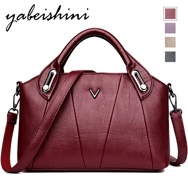 2019 Bags For Women Large Capacity Leather Women's Shoulder Bag Durable Crossbody Women's Shoulder Bag Women's Tote Sac A Dos