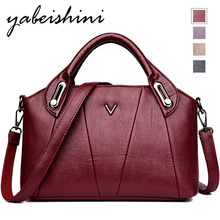 2019 bags for women Large Capacity Leather Womens Shoulder Bag Durable Crossbody Tote Sac a Dos