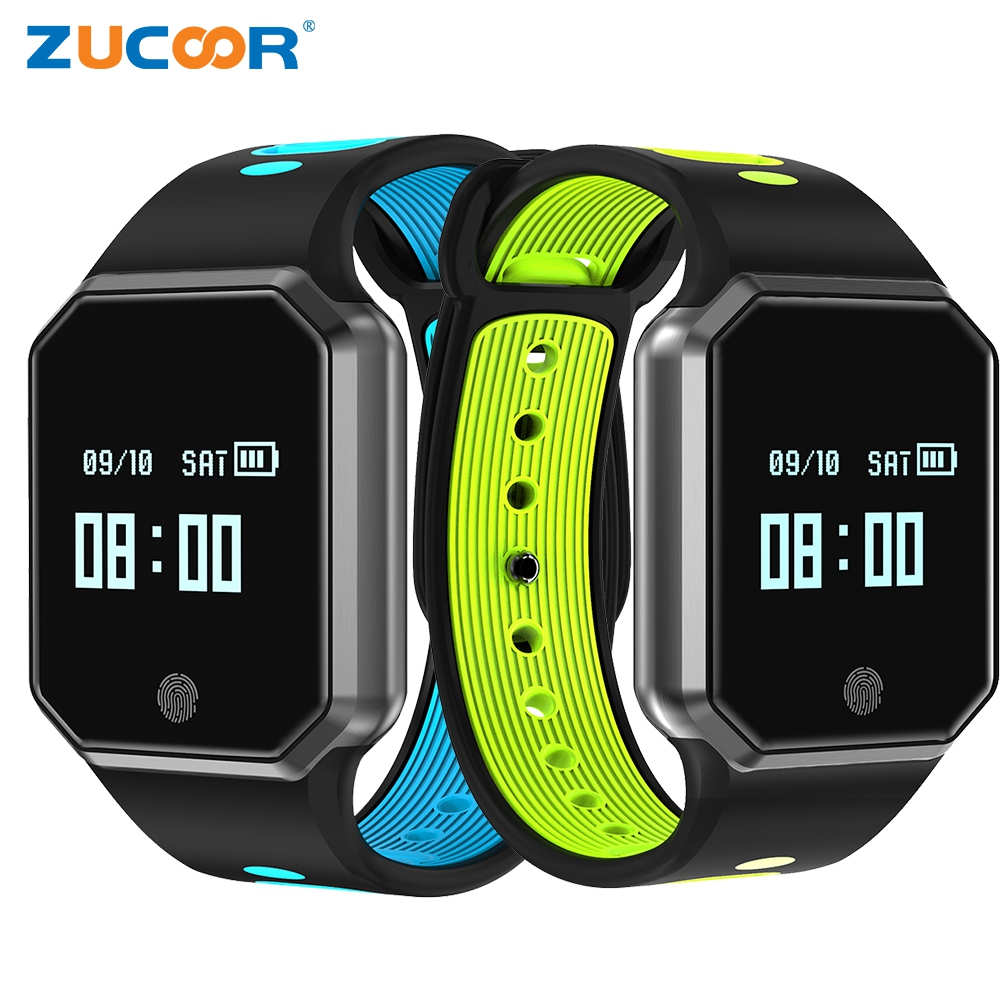 ZUCOOR Smart Fitness Bracelet Pulse Monitor Eletronico Blood Pressure Sport Smartband Wristband Tracker Wearable Devices Band smart band bracelet health wristband s3 pedometer blood pressure wearable devices pulse monitor electronics bracelets for men