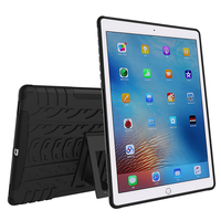 For Capa Samsung Galaxy Tab S2 T810 9.7 inch Case Hybrid Heavy Duty Stand Case Smart Cover Case TPU+PC Armor Shockproof Alabasta
