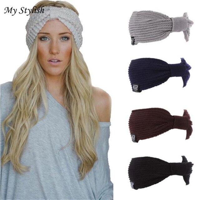 80ae9c357 US $2.13 | Women Hats 2017 New Fashion Winter Warm Knit Men Women Baggy  Beanie Hat Slouchy Chic Cap High Quality Accessories Dec 26-in Skullies &  ...