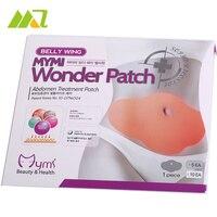 25 Stück/5 Boxen Abnehmen Patch PMYMI Wonder Schlank Patch Fett Verbrennen Bauch Verlieren Gewicht Produkt Bauch Schlankheits-patch