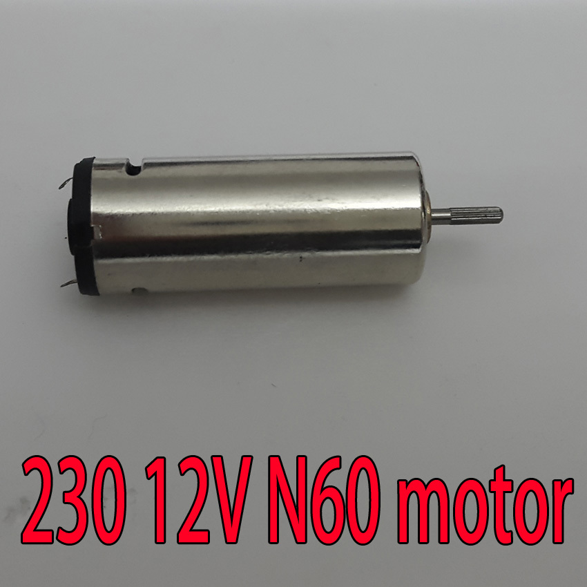 5pcs Miniature 12v 15000rpm Dc Motors 230 Motor 12v N60