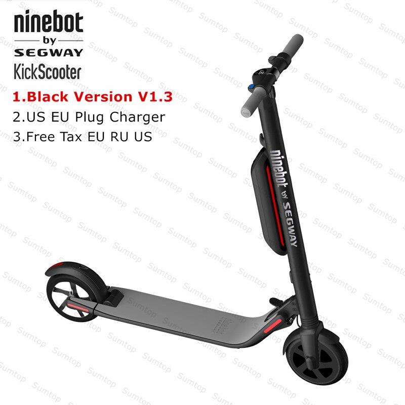Nouveau Ninebot KickScooter ES4/ES2 Smart Électrique Kick Scooter V1.3 Pliable Léger Électrique Hover Bord Planche À Roulettes Avec APP