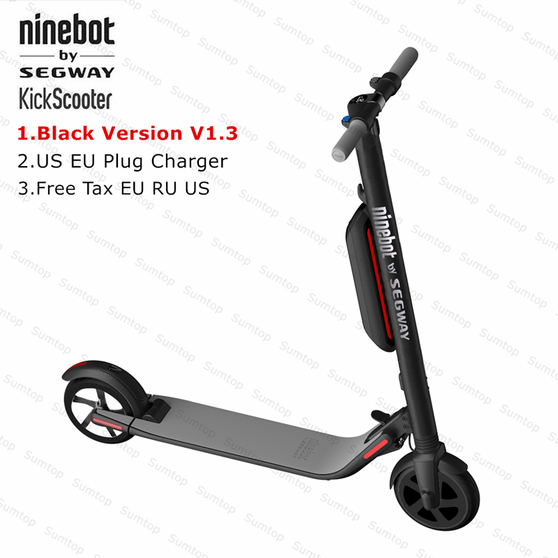 Nouveau Ninebot KickScooter ES4/ES2 Smart scooter électrique V1.3 Pliable Léger Électrique Hover Bord Planche À Roulettes Avec APP