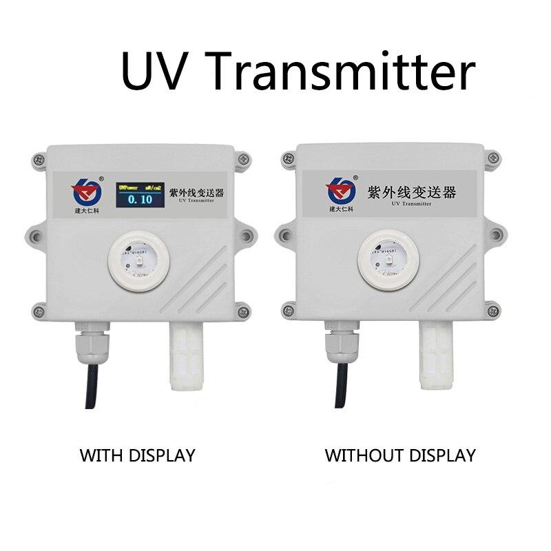 Capteur UV capteur de détection de lumière transmetteur 4-20MA/0-5 V/0-10 V/RS485 capteur d'humidité et de température