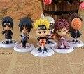 12 Estilos Naruto 8 cm Figura de Acción de Nueva Ninja Sasuke Kakashi Modelo de Juguete