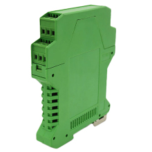 Electrical Distribution Box Din Rail Plastic Enclosure Electronic Green Instruement Enclosure