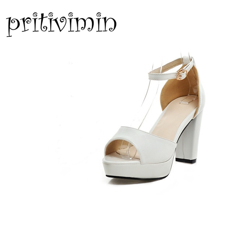 2015 brand womens summer wedding shoes ladies peep toe platform sandals white mint green sexy high heels strappy sandals 206-2 zorssar brand 2017 high quality sexy summer womens sandals peep toe high heels ladies wedding party shoes plus size 34 43