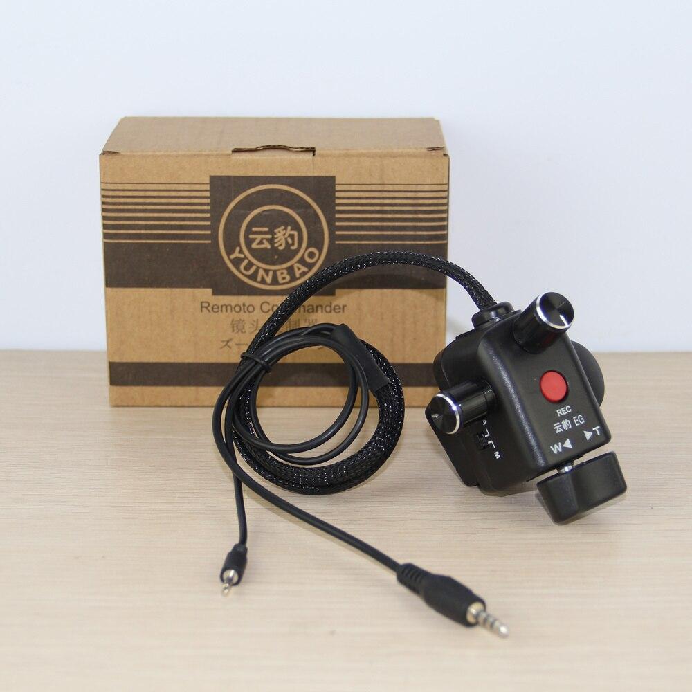 O Envio gratuito de controle de Zoom e foco para câmeras Panasonic LANC HC-X1 AG-UX90 HC-PV100 AG-AC30 AG-UX180 HC-X1000 AG-AC90 AU-EVA1
