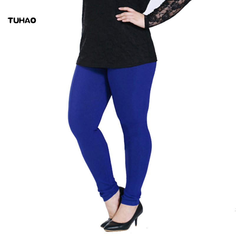 TUHAO Women Casual Pants capris Plus bigSize 6XL Female Skinny Stretch Spring Autumn women pencil Pants Trousers capris YBFS