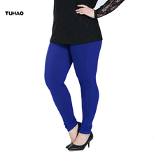 TUHAO Women Casual Pants capris Plus bigSize 6XL Female Skin