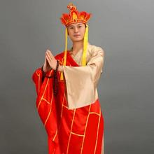 Tang Priest costume Monk The journey to the West Jiasha Shaolin Temple Frock Presided over Abbot Monkcloth