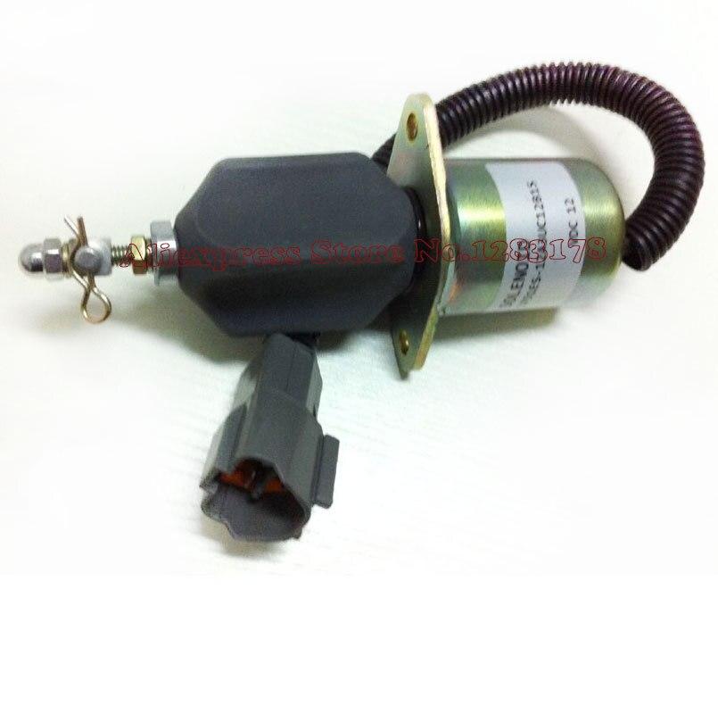 Desligamento de combustível solenóide 1751ES-12A3UC12B1S Escavadeira Hyundai