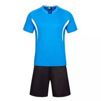 BENWON Adult S Customized Short Sleeve Soccer Jerseys Diy Logo Name Number Football Training Sets Men