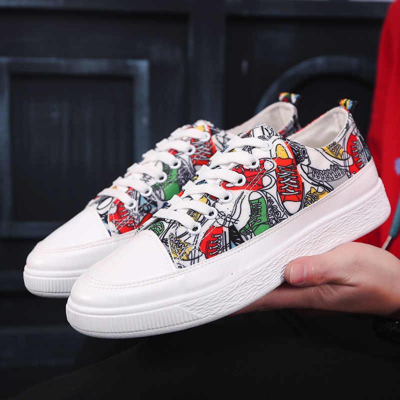 5a699525043 Fashion Anime Dragon Ball Z Print Mens High-top Vulcanized Shoes Cool Super  Saiyan Son