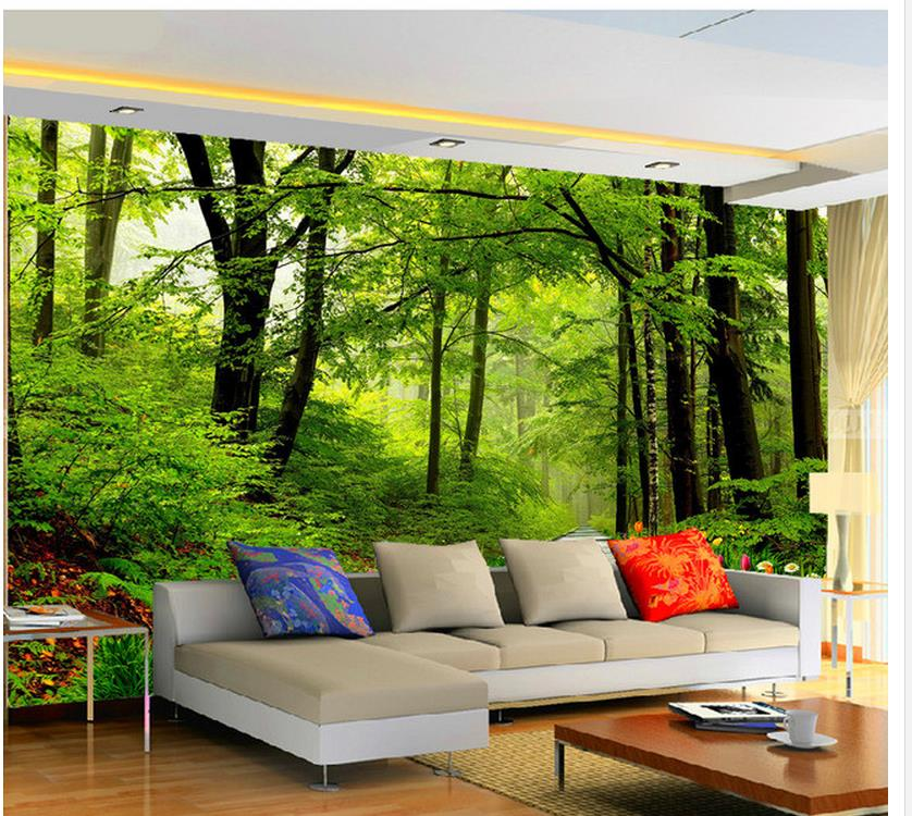 Custom photo wallpaper large 3d sofa tv background Decor papier peint mural