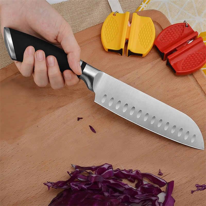 9 インチ 12 インチステンレス鋼包丁鋼日本三徳野菜ナイフ肉魚カッター包丁スライシング