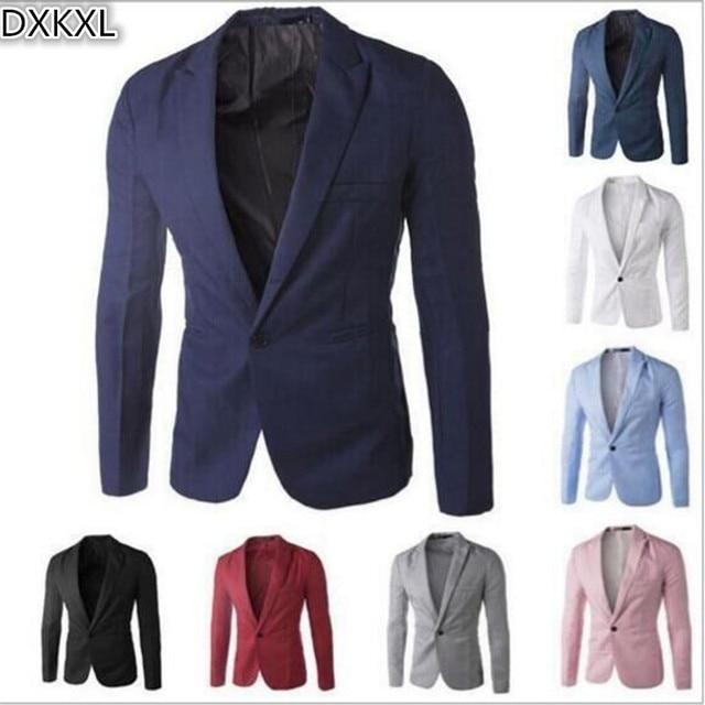 Cheapest Men Blazers Autumn Winter Popular Slim Fit Men Suit Jacket