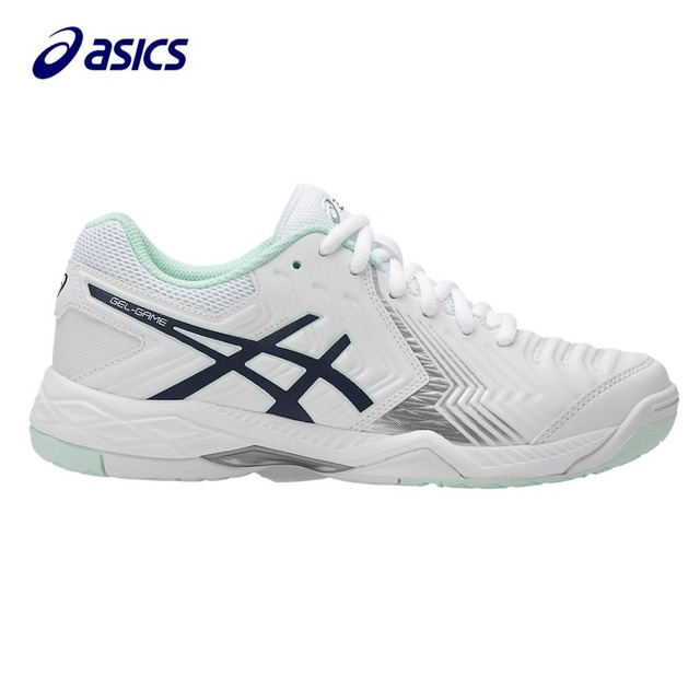 Orginal ASICS 2018 New Women Running Shoes  Breathable Stable Shoes outdoor Tennis shoes classic Leisure Non-slip E755Y-0149