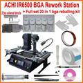 2015 Novo conjunto completo ACHI IR6500 Infrared estação retrabalho BGA + 20 em 1 kit reballing bga para o portátil game consoles xbox ps3 reparação
