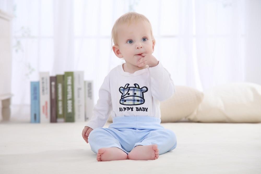 100% Pantalones de algodón para bebés Pantalones de algodón para - Ropa de bebé - foto 2