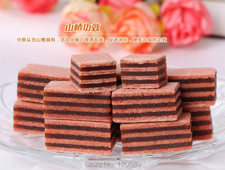 250g Haw Candy Chinese Specialty Hawthorn Candy Delicious Sweets