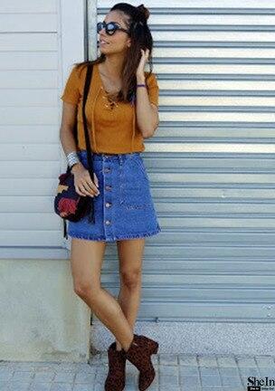 юбка джинсовая цена