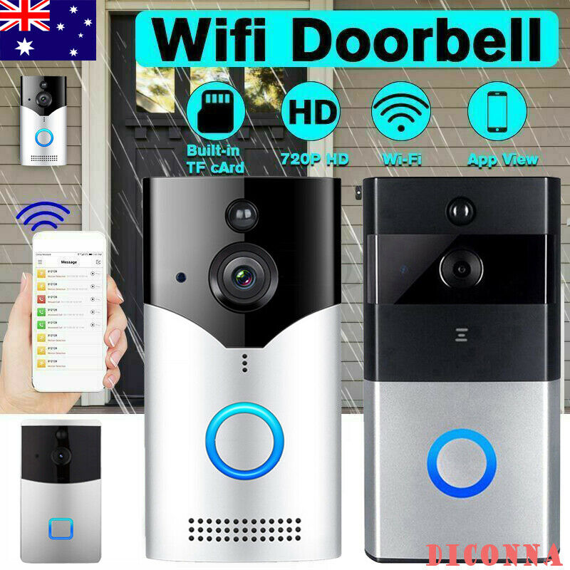 D3 Smart WiFi Doorbell IR Camera Video Wireless Remote Door Bell CCTV Chime Phone APP IR-CUT Night Vision Home Security
