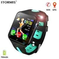 ITORMIS Kinder Smart Uhr GPS Uhr Smart Baby Uhr Telefon Smartwatch für Kinder Lage Wasserdicht Touchscreen PK Q50 Q90|Smart Watches|   -