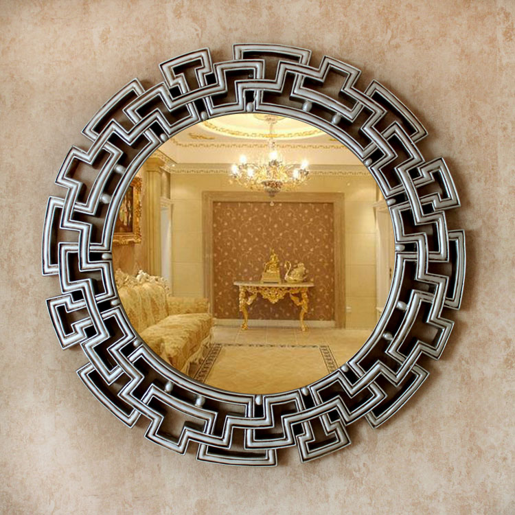 Dia68cm European style wall decorative mirrors  wedding decor mirrors|mirror wedding|european mirrordecorative wall mirrors - AliExpress