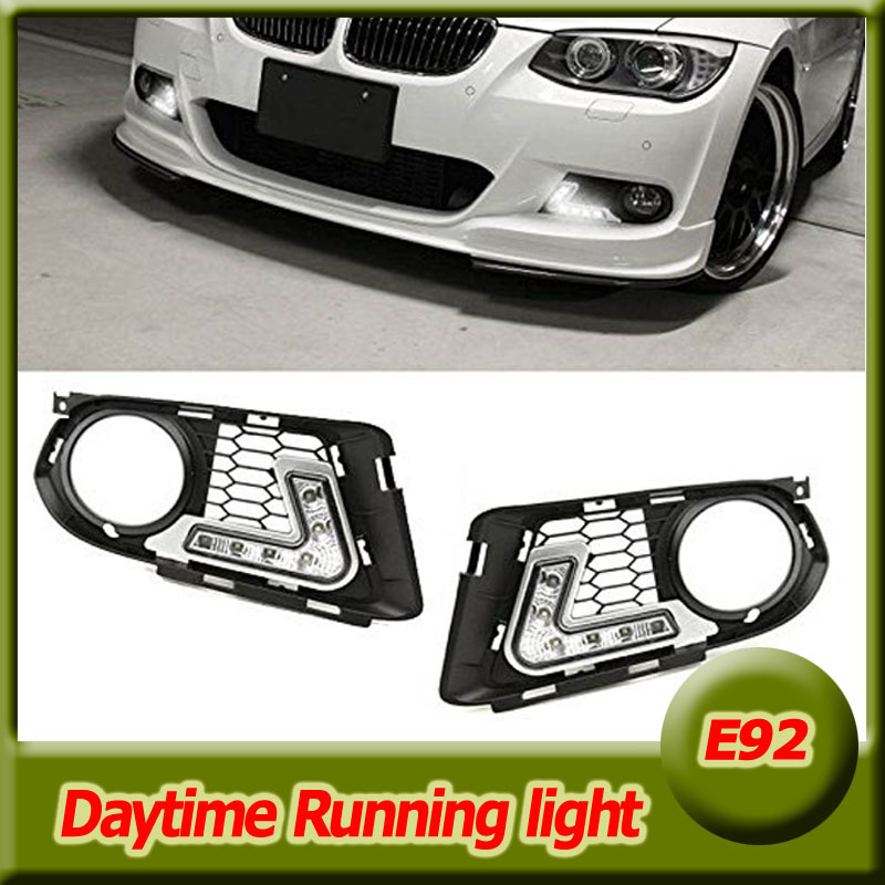OEM Fit 12W High Power Car led daytime running light DRL daylight for BMW e92 2007-2010 with the M-Tech muti-function control
