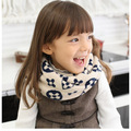 Розничная Глушитель Шарф шарфы шейный платок мода стиль девочки мальчики дети ребенок дети младенческой зима весна осень